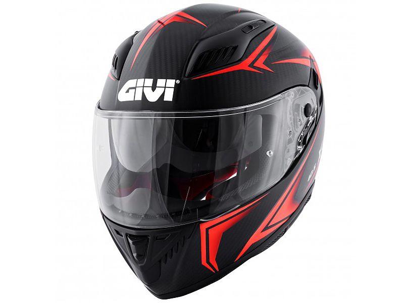 Nuevo casco 40.5 X-Carbon de GIVI rojo