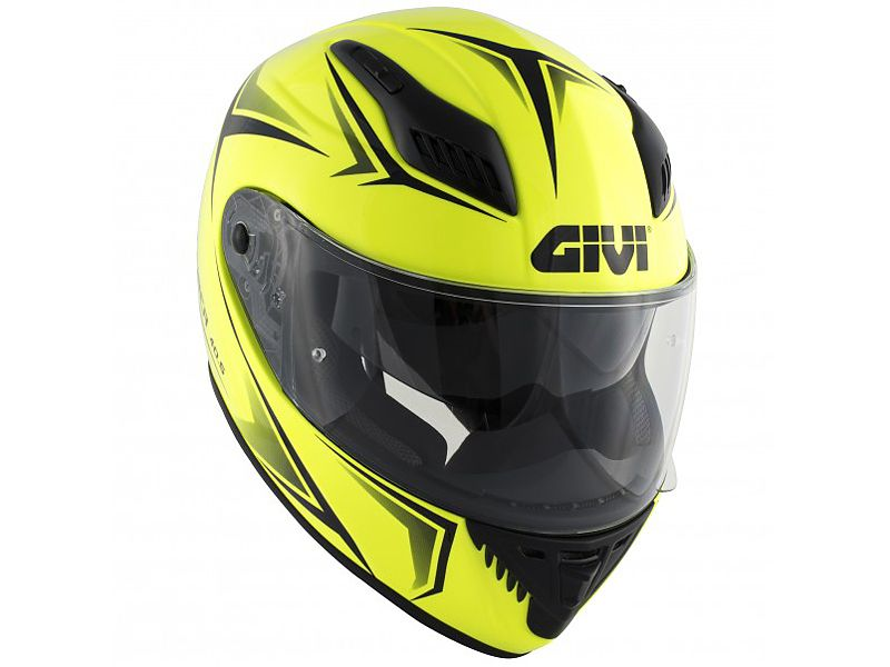 Nuevo casco 40.5 X-FIber de GIVI amarillo neón