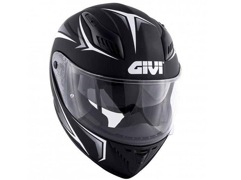 Nuevo casco 40.5 X-FIber de GIVI negro y blanco