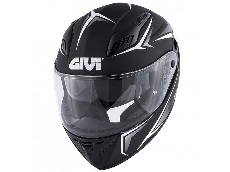 Nuevo casco 40.5 X-FIber de GIVI negro mate y blanco