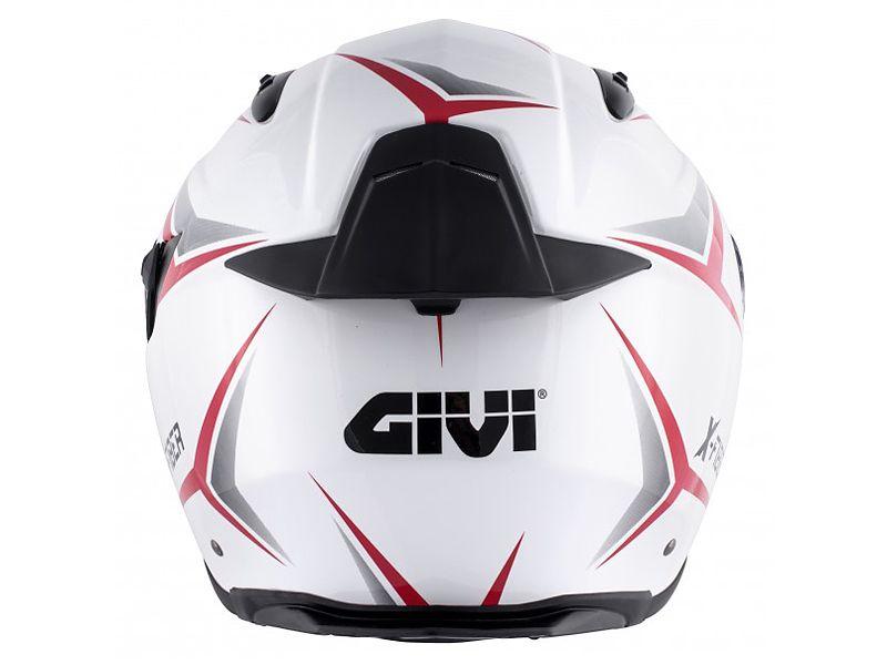 Parte trasera del nuevo casco 40.5 X-Fiber de GIVI