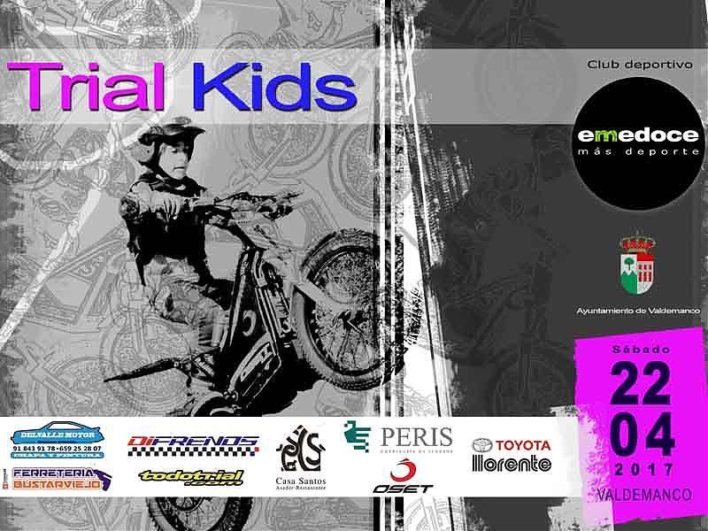 Valdemanco acoge una nueva cita de Trial Kids.