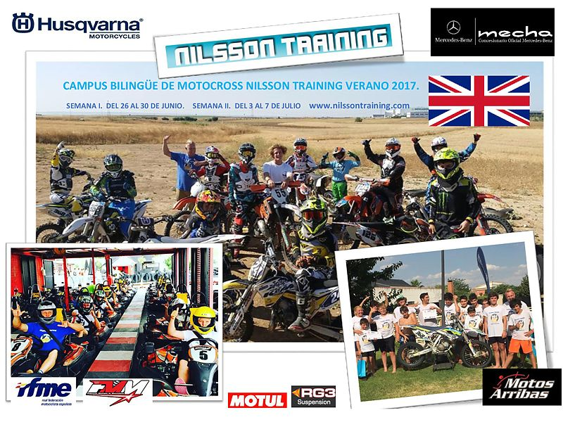 Campus de verano Nilsson Training 2017.