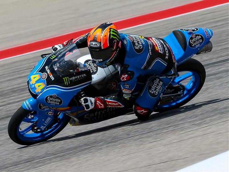 Aaron Canet domina el viernes de Moto3