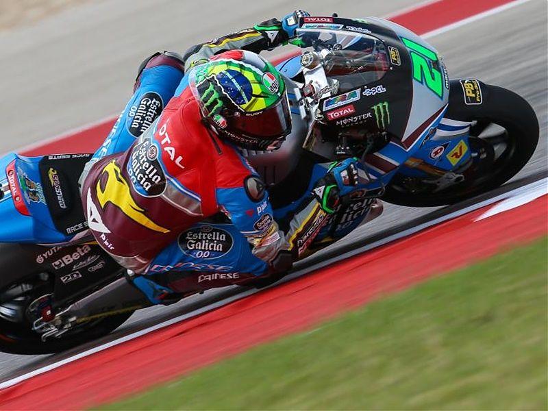 Franco Morbidelli se lleva la pole de Moto2 en Austin