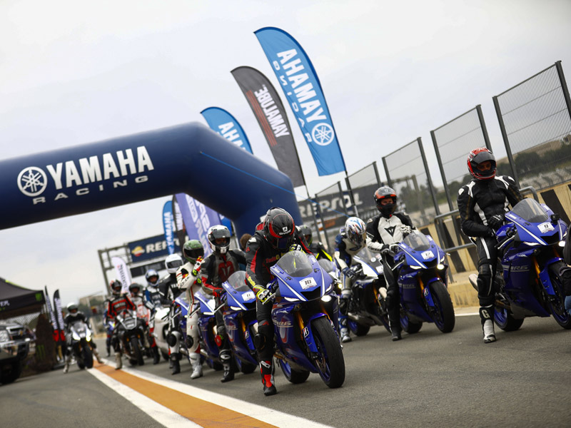 Yamaha SuperSport Pro Tour en estado puro