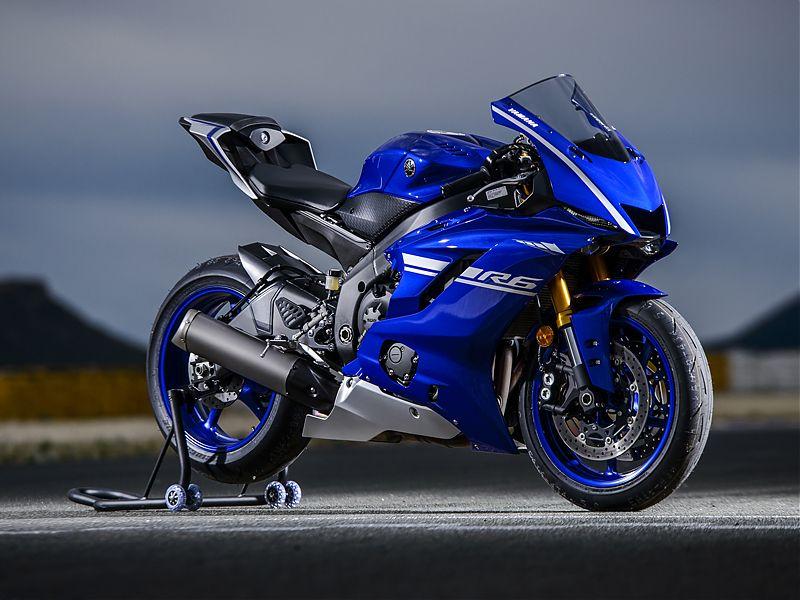 El Diseno De La Yamaha YZF R6 2017 Esta Heredado R1