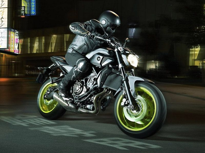 Yamaha MT-07 2017 Night Fluo