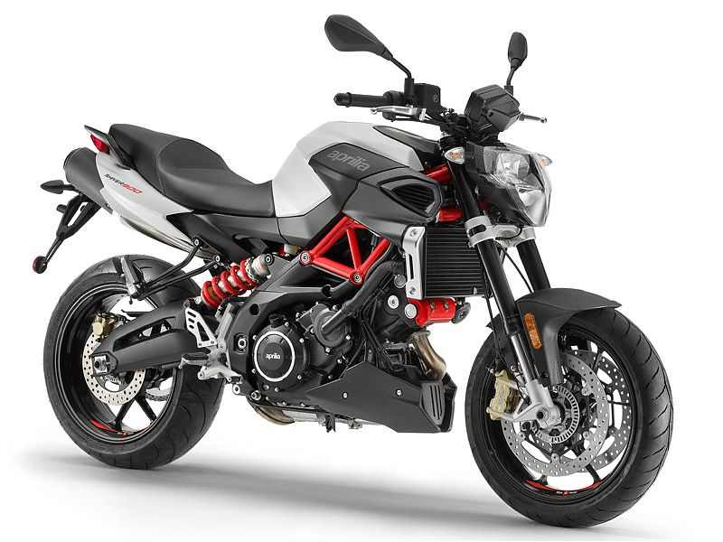 Aprilia Shiver 900 2017 color blanco