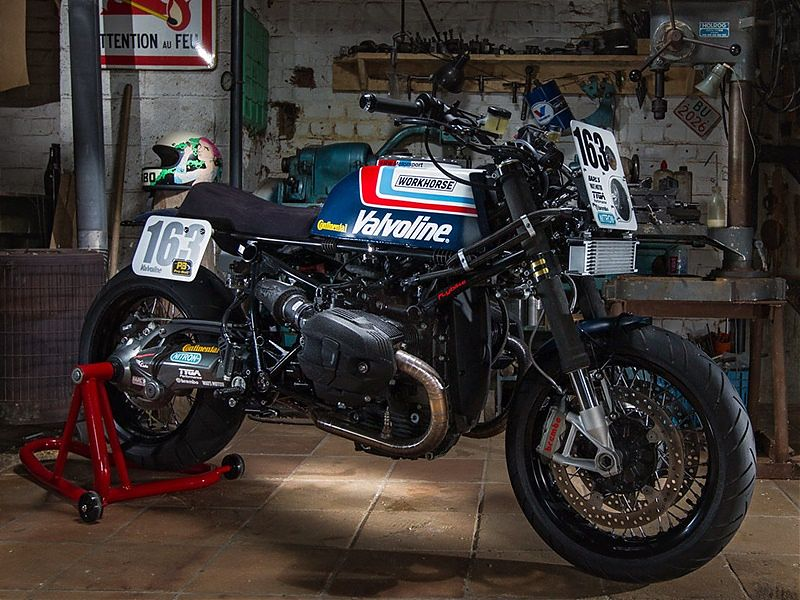 BMW R nineT por Workhorse Speedshop