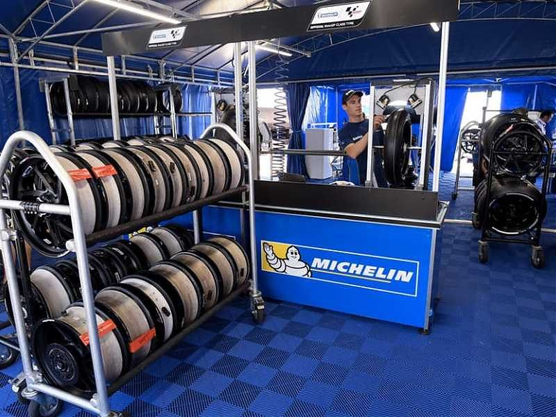 Michelin sigue trabajando en MotoGP