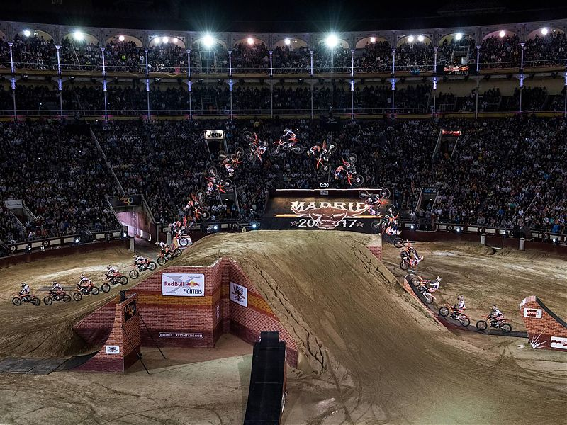 Levi  Sherwood se reconcilia con la victoria en el Red Bull X-Fighters
