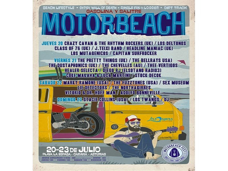 Cartel Motorbeach 2017