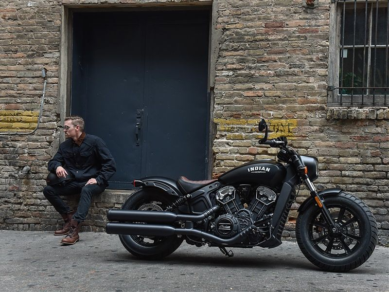 Nueva Indian Scout Bobber