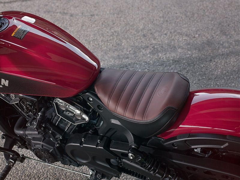 Indian Scout Bobber - Asiento