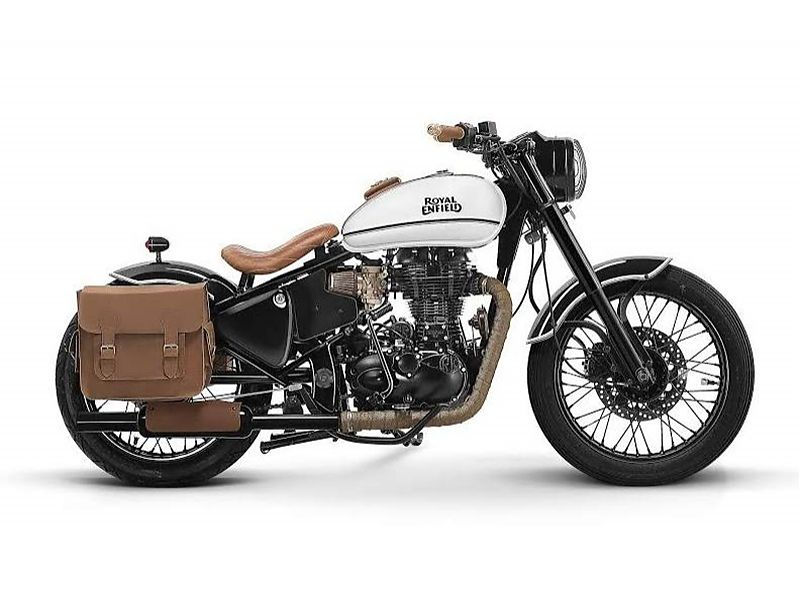 Royal Enfield Classic 500 por Bombay Custom Works