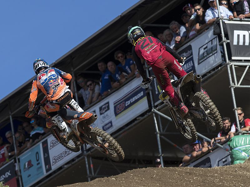 MXGP Loket 2017: Jeffrey Herlings y Gautier Paulin.