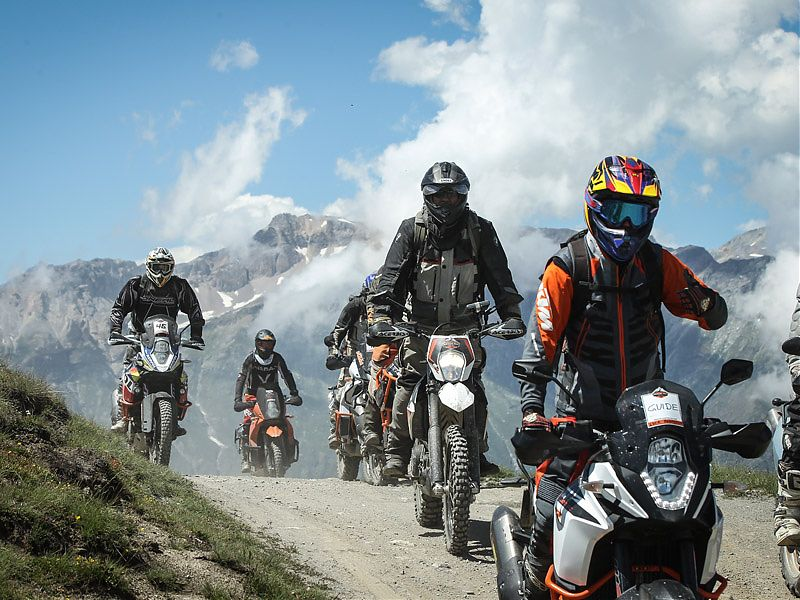 De ruta en el KTM Adventure Rally 2017