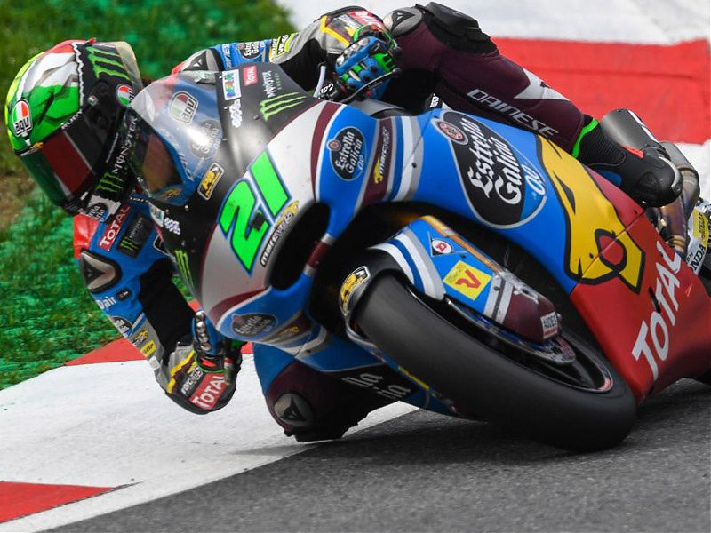 Morbidelli ha estado intratable