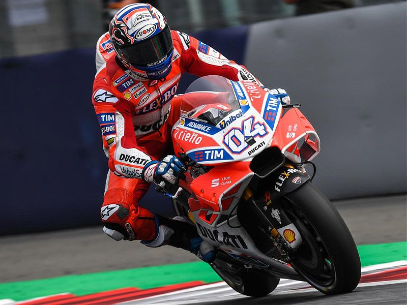 Dovizioso se ha mostrado intratable