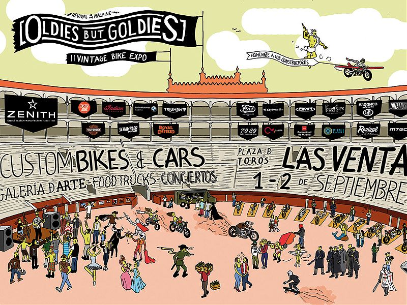 Cartel oficial Oldies But Goldies 2017
