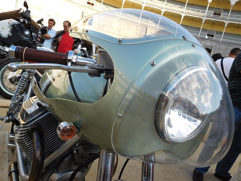 Moto Guzzi Nevada 750 CR Rua Machines en el Oldies But Goldies 2017
