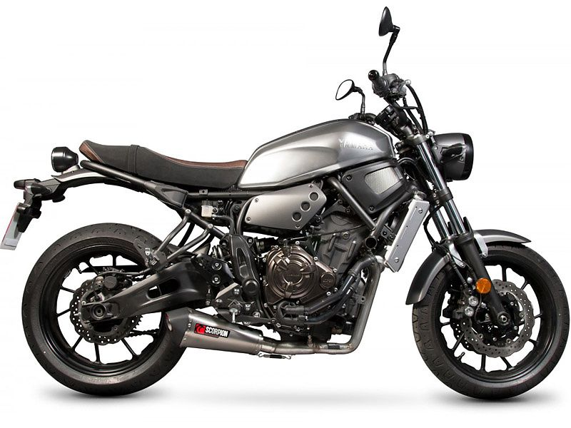 Scorpion Exhausts para la Yamaha Yamaha XSR 700