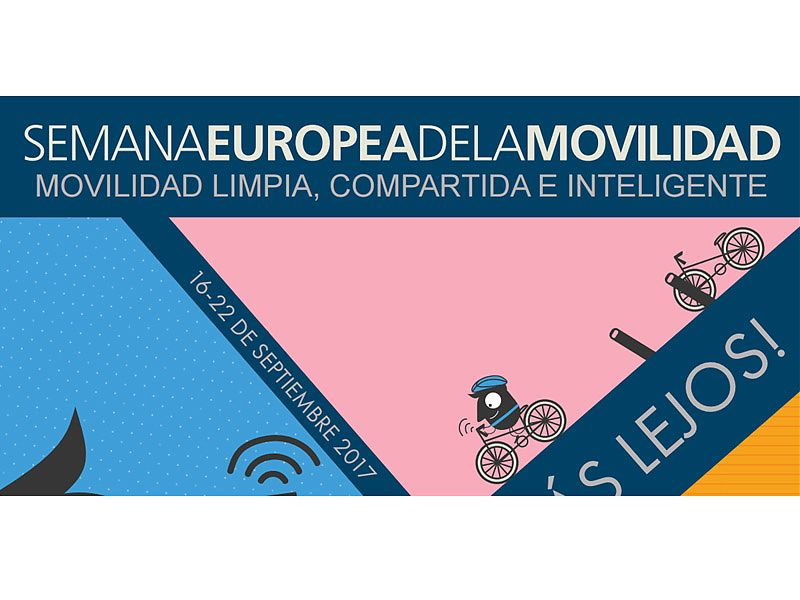 Cartel Semana Europea de la Movilidad 2.017