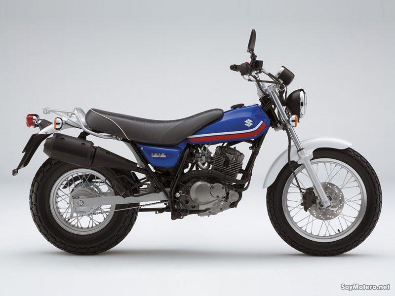 Suzuki VanVan 125 azul