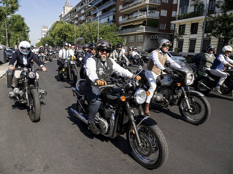 Los Distinguished Gentleman's Ride en Madrid