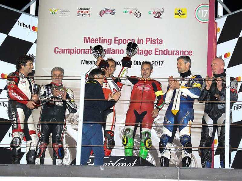 Misano Classic Weekend: los Guareschi en el podio