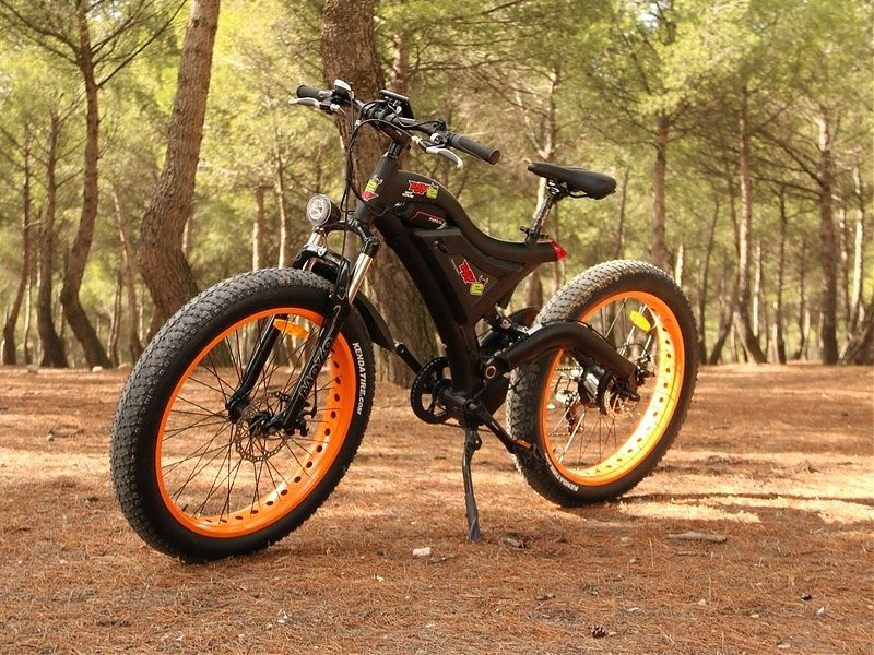 RAV E Bigfoot, la bici para moteros