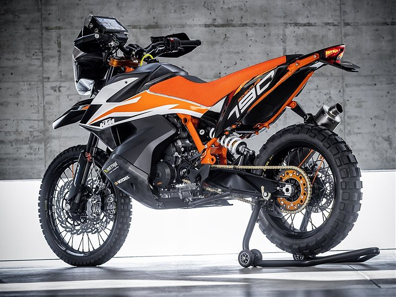 KTM 790 Adventure R Prototype 2018 - 3/4 tras 1