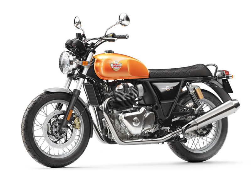 Royal Enfield Interceptor 2018.