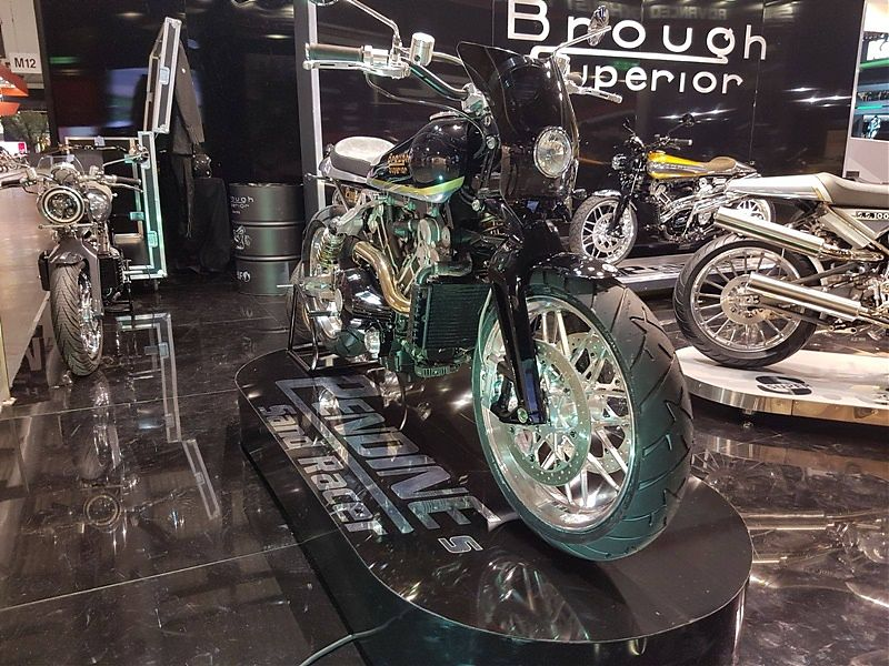 Brough Superior Pendine Sands Racer