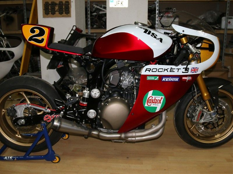 XTR Pepo: BSA base Triumph