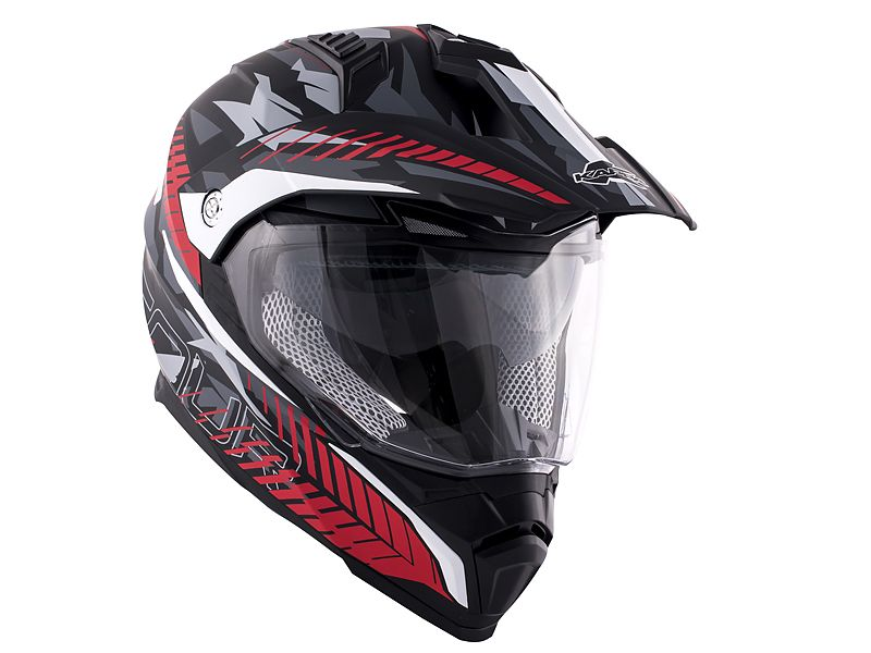 Casco off road de uso mixto