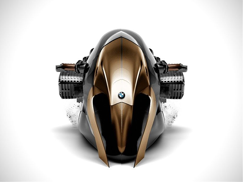BMW R1100R Khan: frontal