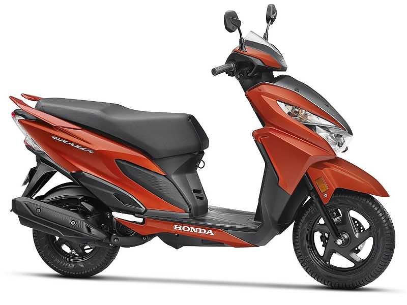 Honda Grazia 125, superventas en India