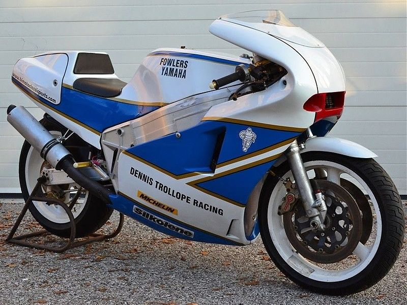 Bimota YB4-R de 1988 ex Steve Williams