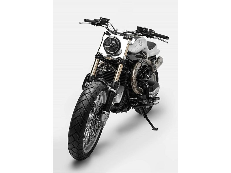 BMW R nineT Hera Project - frontal