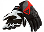 Guantes Dainese Motodon Evo Lady - Negro y rojo volcán