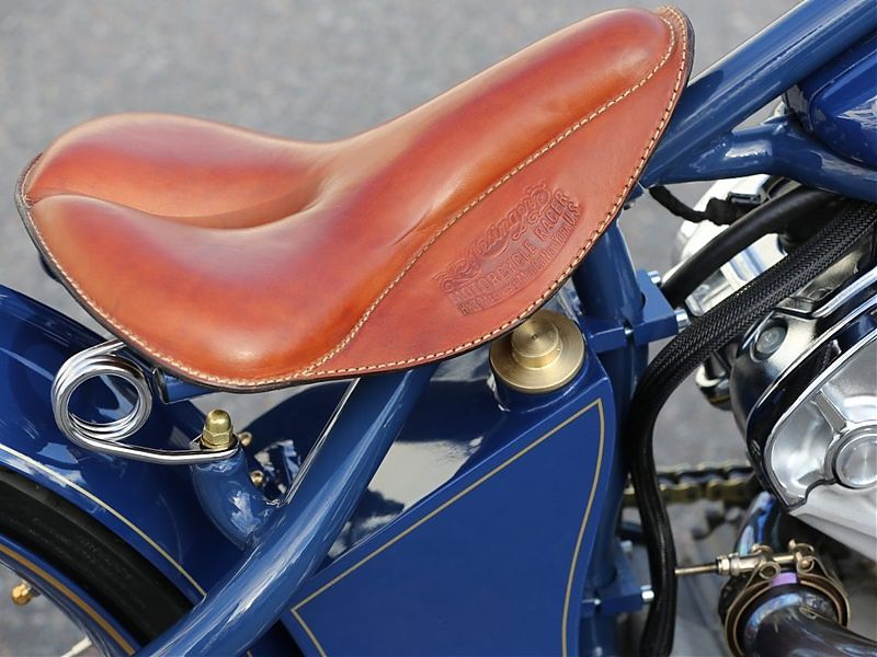 Indian Super Scout - Asiento