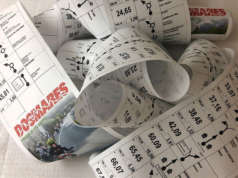 Roadbook Ducati Dos Mares