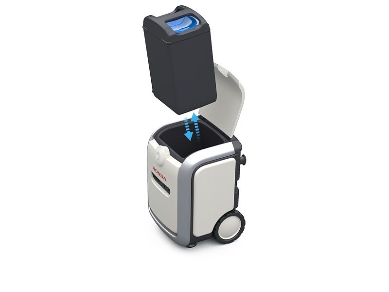 Honda Mobile Power Pack Charge & Supply Portable Concept