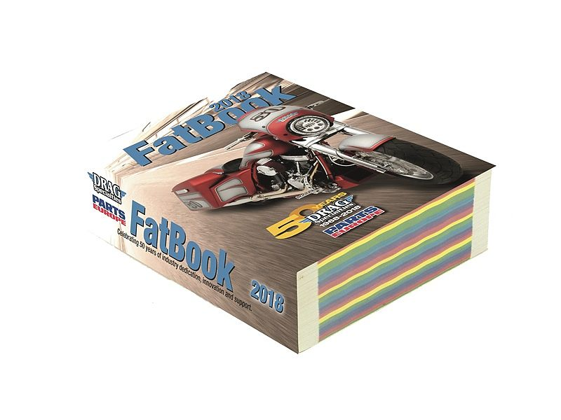 Catálogo FatBook 2018 de Parts Europe