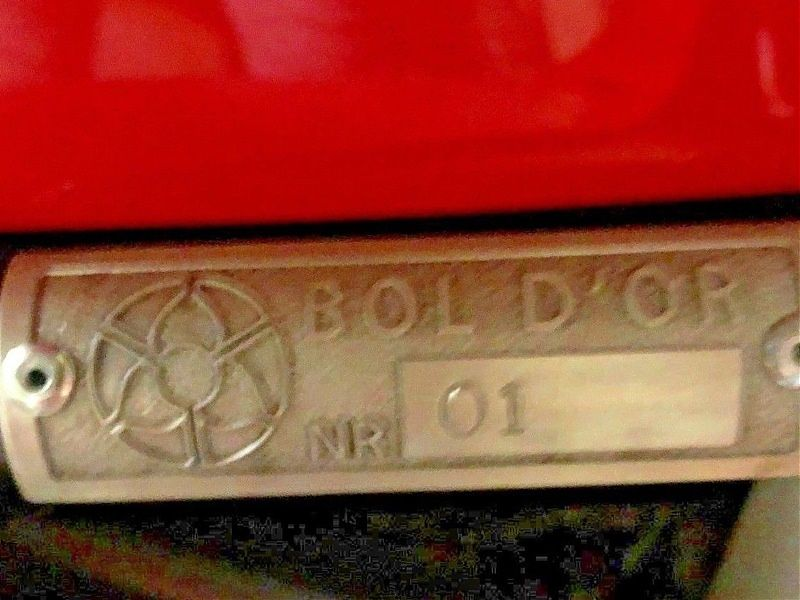 MV Agusta Bol d'Or Series - placa