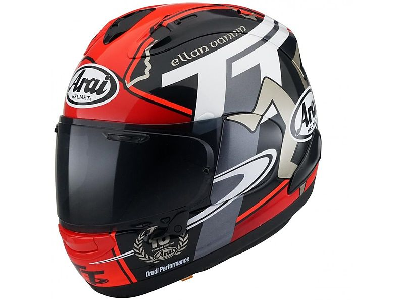Arai Isle Of Man TT Series Special Edition 2018