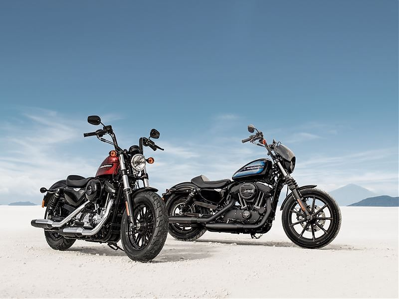 Harley-Davidson Forty-Eight Special y Iron 1200