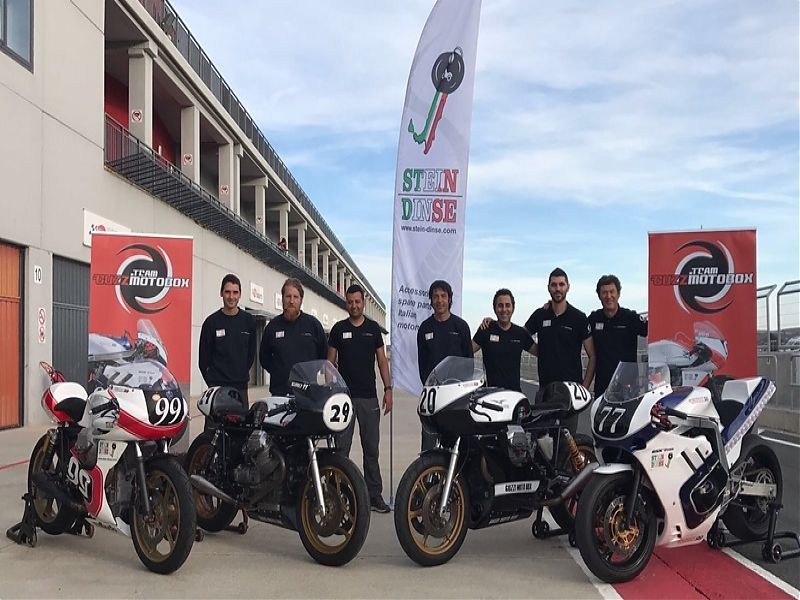 Guzzi Motobox - competición
